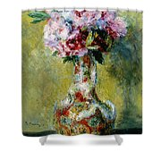 Bouquet In A Vase, 1878 Shower Curtain