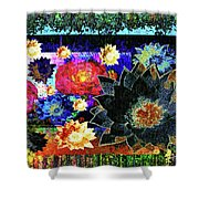 Bouquet Of Gratitude And Forgiveness Shower Curtain