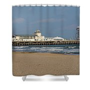 Bournemouth Pier 2 Shower Curtain