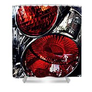 Brake Light 13 Shower Curtain