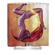 Brandy Girl Shower Curtain