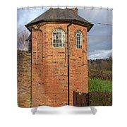 Bratch Locks Toll House Shower Curtain
