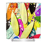 Brb Making Waves Shower Curtain