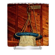 Breeches Buoy Shower Curtain
