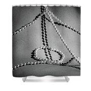 Brennan Hill Pearls 7 Shower Curtain