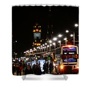 Bright Lights Nobody Wanted Shower Curtain