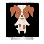 Brittany Gift Idea Shower Curtain