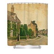 Broadway Street View Shower Curtain by Joe Winkler