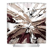 Brownness Shower Curtain