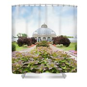 Buffalo Botanic Gardens Conservatory Shower Curtain