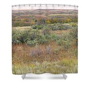Buffaloberry September Reverie Shower Curtain