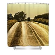 Buggy At Golden Hour Shower Curtain