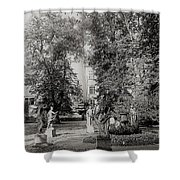 Building And Nature Shower Curtain