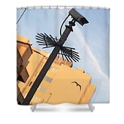 Buildings At Sunrise Shower Curtain