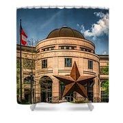 Bullock Texas State History Museum Shower Curtain