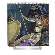 Burke And Hare Shower Curtain
