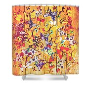 Butterfly Papercraft  Shower Curtain