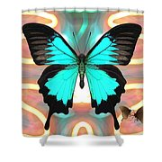 Butterfly Patterns 21 Shower Curtain