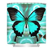 Butterfly Patterns 22 Shower Curtain