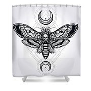 Butterfly - Vector Shower Curtain