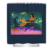 By The Sea - Digital Remastered Edition Shower Curtain