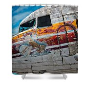 C 47 Shower Curtain