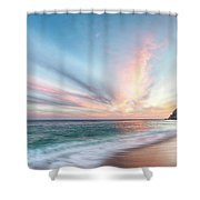 Cabo San Lucas Beach Sunset Mexico Shower Curtain