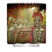 Caesar Shower Curtain