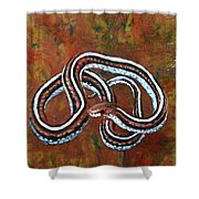 California Garter Snake Shower Curtain