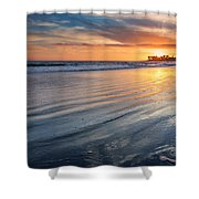 California Sunset V Shower Curtain