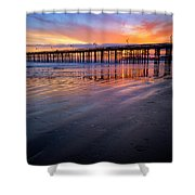California Sunset Vii Shower Curtain