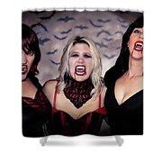 Call Of The Vampires Women Shower Curtain