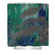 Calm, Cool And Collected Sold Shower Curtain