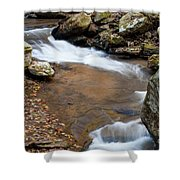 Calming Water Sounds - North Carolina Shower Curtain