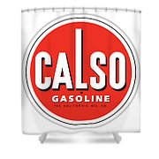 Calso Sign Shower Curtain