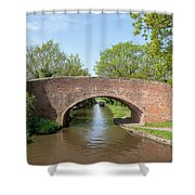 Canal Bridge 56 Shower Curtain