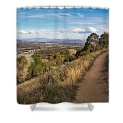 Canberra Centenary Trail - Australia Shower Curtain