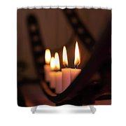 Candlestick  Shower Curtain