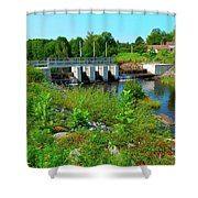 Canton Central 1 Shower Curtain