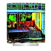 Canton Central 10 Shower Curtain