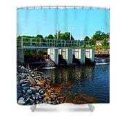 Canton Central 7 Shower Curtain