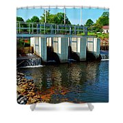Canton Central 8 Shower Curtain