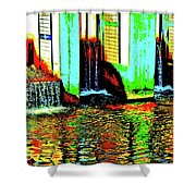 Canton Central 9 Shower Curtain