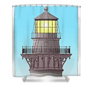 Cape Hatteras Lamp House Shower Curtain