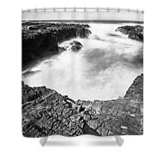 Cape Perpetua Shower Curtain by Whitney Goodey
