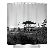 Cape San Blas Shower Curtain
