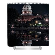 Capitol Reflection Shower Curtain