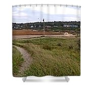 Car Comming  Shower Curtain