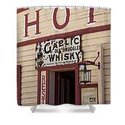 Cardrona Hotel, Cardrona, Otago, South Shower Curtain