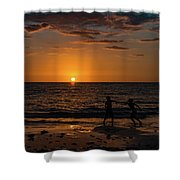 Carefree Days Of Summer Shower Curtain